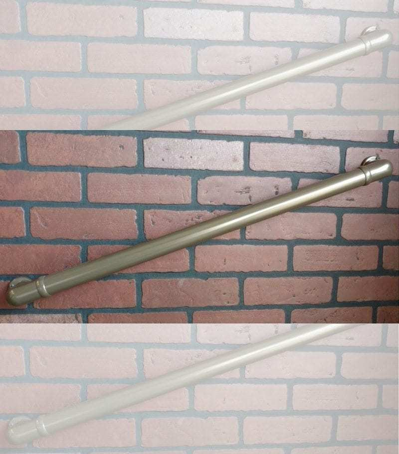 Handrail Section with returns installed