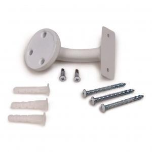 Aluminum Handrail Direct White-Sand Wall Mount